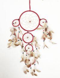 120 Bulk 5 Hoop Dream Catcher In Assorted Color