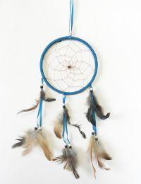 48 Bulk Large Single Hoop Dream Catcher In Assorted Colors