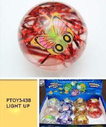 96 Bulk Light Up Led Bouncy Ball