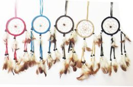 48 Bulk Dream Catcher Collection In Assorted Colors