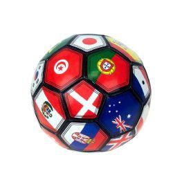 30 Bulk Kids Soccer Balls Size 5 In MultI-Country Print