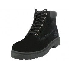 """12 Bulk Men's """"himalayans"""" Insulated Leather Upper Injection Work Boots"""