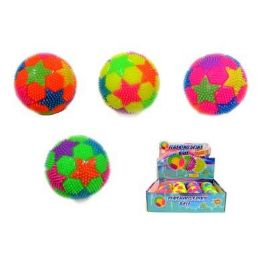 24 Bulk Flashing Stars Ball