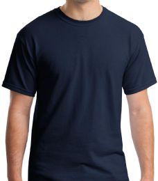36 Bulk Mens Cotton Short Sleeve T Shirts Solid Navy Blue Size S