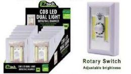 24 Bulk Led Cordless Rotating Dual Light