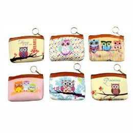 48 Bulk Owls Coin Purse