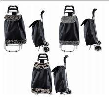 6 Bulk Large Tote Shopping Cart Animal Print