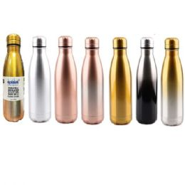 24 Bulk Stainless Steel Double Walled Classic Edition Water Bottle Cup