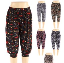 48 Bulk Womens Fashion Assorted Syle Pants
