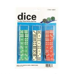 10 Bulk 48 Piece Colored Dice