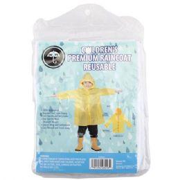 48 Bulk Children Raincoat