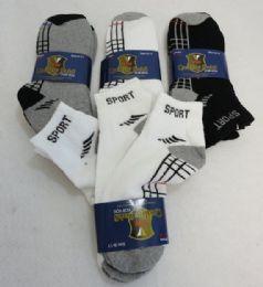240 Bulk Wholesale Deal On Men's Sports Ankle Socks