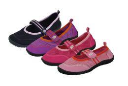 36 Bulk Toddlers Athletic Water Shoes Pool Beach Aqua Socks