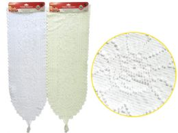 288 Bulk Hanging Lace Table Runner