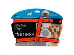 12 Bulk Large Reflective Dog Harness