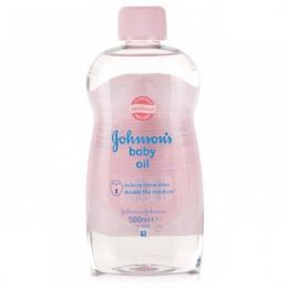 240 Bulk Johnson's Regular Baby Oil Shipped By Pallet