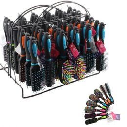 96 Bulk Beauty Hair Mini Brush Rack