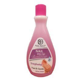 240 Bulk Bazic Beauty Strengthening Nail Polish Remover Shipped By Pallet