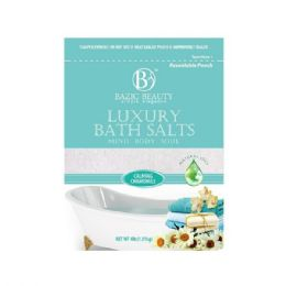 24 Bulk Bazic Beauty 4lb Calming Chamomile Epsom Salt Shipped By Pallet