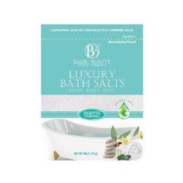 24 Bulk Bazic Beauty 4lb Eucalyptus Epsom Salt Shipped By Pallet