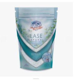 72 Bulk Wish 16 Oz Muscle & Back Eucalyptus Peppermint Epsom Salt
