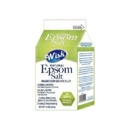 12 Bulk Wish 16 Oz Original Epsom Salt Box Shipped By Pallet