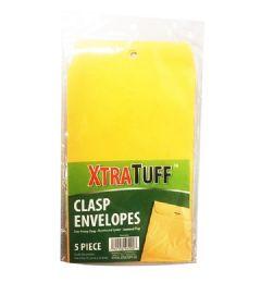 96 Bulk Xtratuff 5 Pack Clasp Envelope