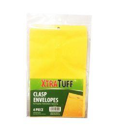 48 Bulk Xtratuff 4 Pack Clasp Envelope