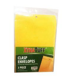 96 Bulk Xtratuff 3 Pack Clasp Envelope