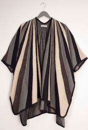 12 Bulk Vertical Multi Stripe Cape Brown