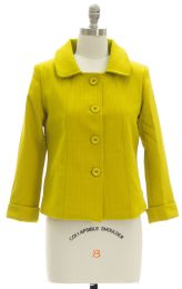 12 Bulk Cropped Car Blazer Lime