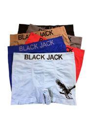 240 Bulk Blackjack Men's Seamless Boxer Brief