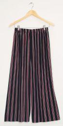 12 Bulk Stripe Coulottes Multi Color Red Stripe