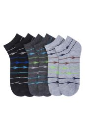 216 Bulk Men's Spandex Ankle Socks Size 10-13