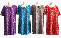 60 Bulk Womens House Duster Night Gown Assorted Sizes
