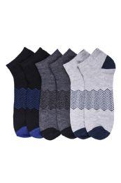 216 Bulk Mens Spandex Ankle Socks Size 10-13