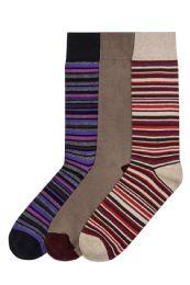 120 Bulk Men's Cotton Blend Crew Dress Socks