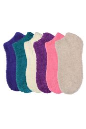 120 Bulk Women's Plush Soft Socks Size 9-11