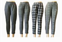 48 Bulk Womens Assorted Pants With Clip