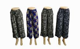 48 Bulk Women Loose Fit Styled Pants