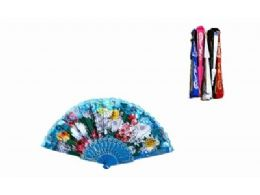 120 Bulk Chinese Japanese Party Handheld Fan Assorted Color