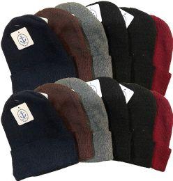 12 Bulk Yacht & Smith Unisex Winter Warm Acrylic Knit Hat Beanie