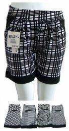 48 Bulk Womens Ease Into Comfort Trendy Summer Shorts