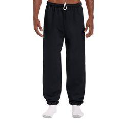 18 Bulk Adult Unisex Gildan Black Adult Sweatpants,size Large