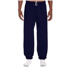 18 Bulk Adult Unisex Gildan Navy Adult Sweatpants,size Medium