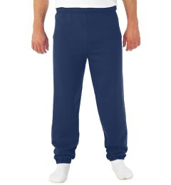 12 Bulk Adult Unisex Navy Heavy Weight Sweatpants,size Small