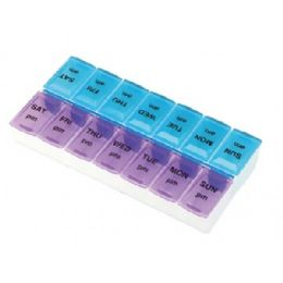 60 Bulk Pill Organizer Weekly Assorted Colors
