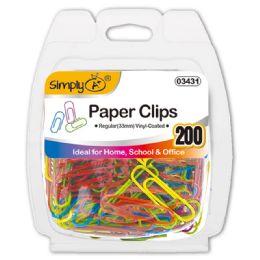 96 Bulk Color Paper Clip