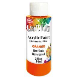 96 Bulk Acrylic Paint Orange