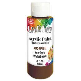 144 Bulk Acrylic Paint Coffee
